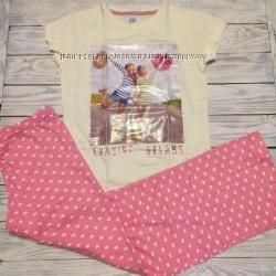Наборы пижам для девечек  F&F 7-12 лет