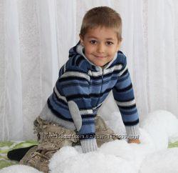 Кофта для мальчика с капюшоном