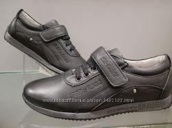 Детские школьные туфли для мальчика 28-36