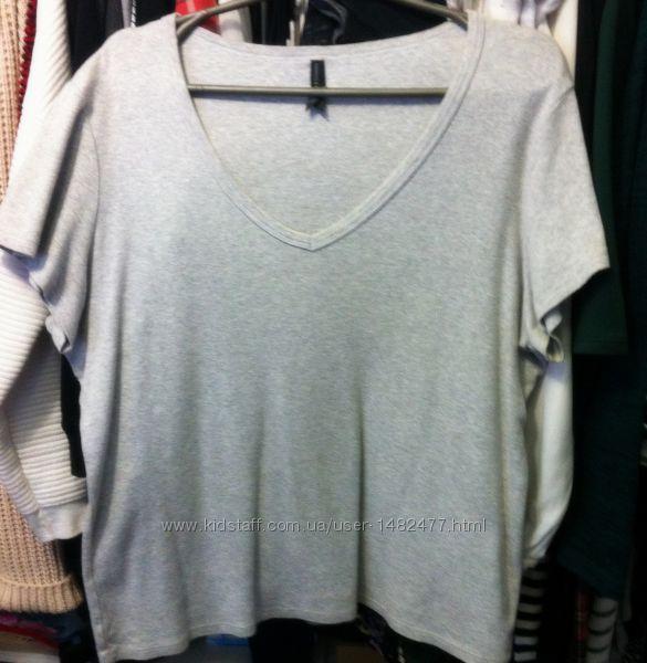 футболка серая Marks & Spencer