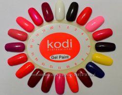 Гель краска для ногтей Kodi Professional 4 мл