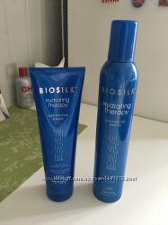 Мусс для укладки волос Увлажняющая терапия BioSilk Hydrating Therapy Rich