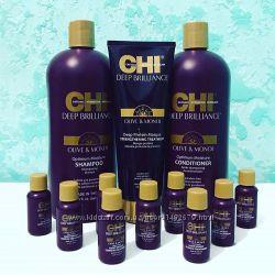 Восстанавливающий Шампунь, кондиционер CHI Deep Brilliance Olive & Monoi