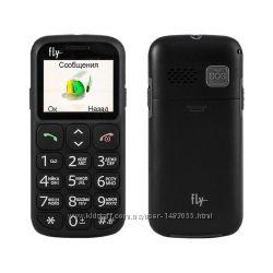 Телефон кнопочный бабушкофон Fly EZZY 7