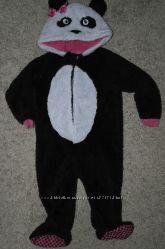Девочке George слип панда кигуруми человечек пижама комбинезон домашний кос