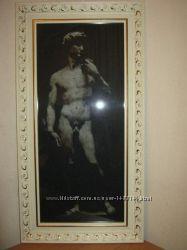 Вышитая картина Давид