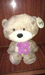 Мягкая игрушка медведь мишка  Hugs