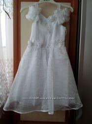 Празничное платье р. 122-128