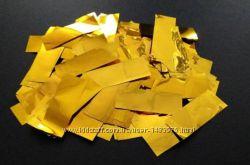 Конфетти метафан 1 кг серебро золото серпантин 0, 5 кг