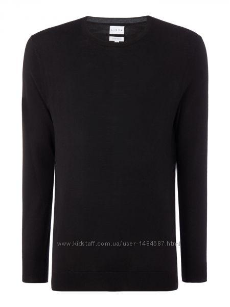 Джемпер свитер из мериносовой шерсти Linea Англия р. L