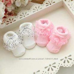 Носочки для новорожденных для девочки шкарпетки для малюків