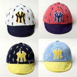 Стильная кепка бейсболка блайзер панама New York гибкий козырек