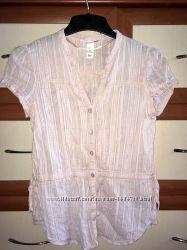 Легкая натуральная блузка H&M