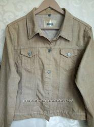 Джинсовая куртка пиджак Street One р EUR 44, GB 18