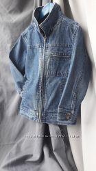 Продам детскую джинсовую куртку adams
