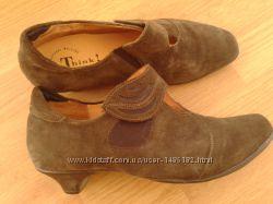 туфлі замшеві 40
