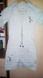 Платье сафари джинс