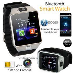 Умные часы телефон c SIM картой. SmartWatch DZ09