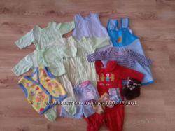 Пакетик одежки для маленького