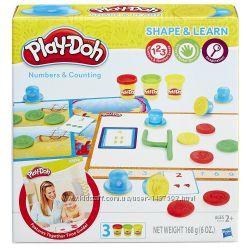 Обучающий набор Play-Doh Учимся считать Play-Doh Shape and Learn Numbers an