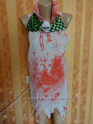 Халат медсестры на Хэллоуин, костюм зомби