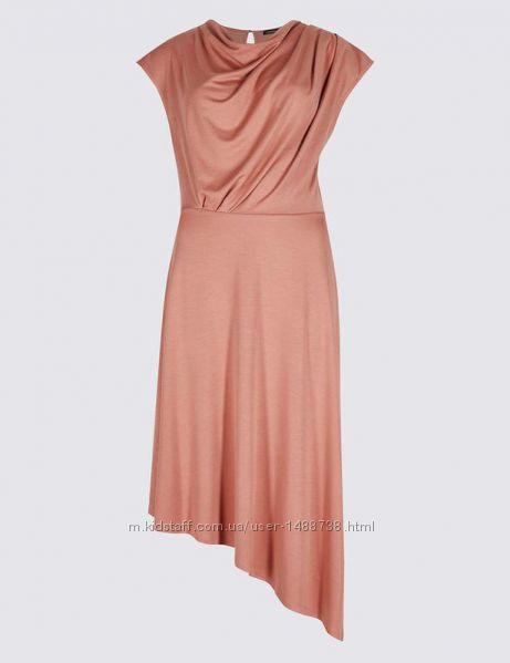 Асиметричне плаття  платье  сукня m&s  розмір 184652