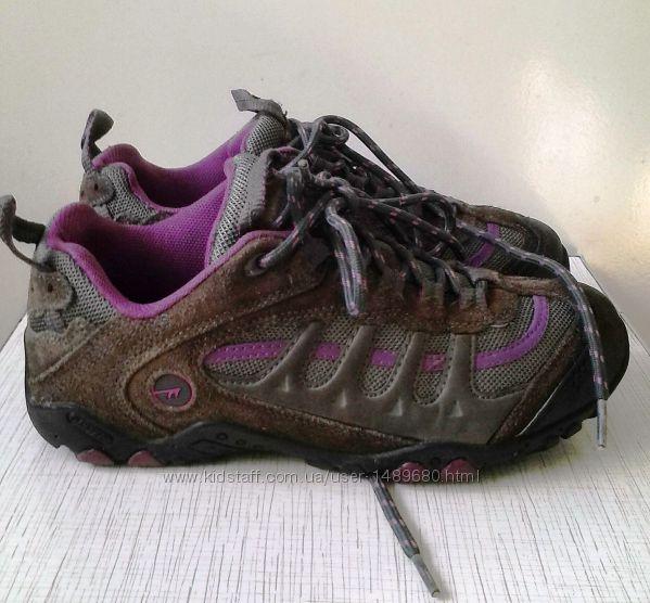 HI-TEС Ботинки, кроссовки замш натуральный 37размер. Оригинал.