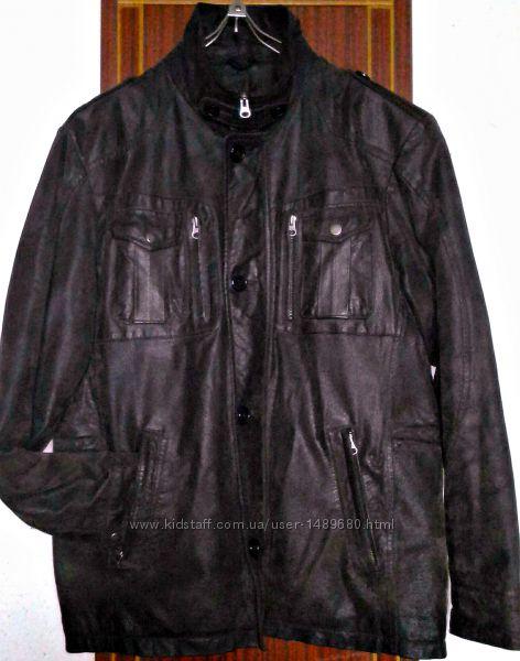 Biaggini Фирменная куртка натуральная кожа 46разм 0a1819308dbdc