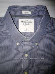 Abercrombie & Fitch Стильная рубашка, коттон. Оригинал