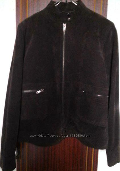JOIE DE VIVRE Стильная куртка натуральная замша