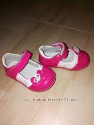 Нарядные туфельки на девочку Clibee, 20 р, кроссовки на девочку р. 21