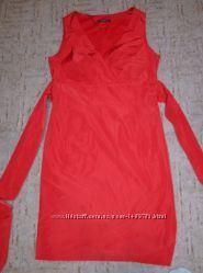 Элегантное красное вечернее красивое платье сукня червона esprit 10 40 л