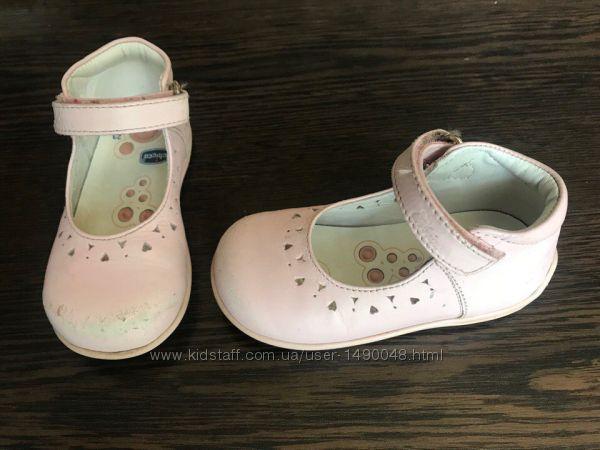 Туфли фирмы chicco чико. Кожа. Размер 23 стелька 15 см