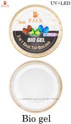 Прозрачный био-гель F. O. X Bio gel 3 in 1 basetopbuilder
