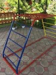 Детская лестница из металла для детской площадки