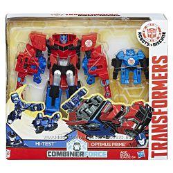 Трансформеры Transformers роботы под прикрытием Оптимус Прайм и мимикон