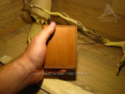 Кардхолдер из натуральной кожи ручной работы