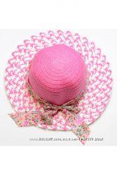 летняя шляпа из рисовой соломки