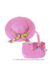 Набор шляпка и сумочка