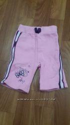 Штанишки спортивочки с начесом для новорожденной девочки