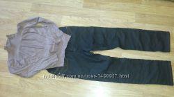Тёплые джинсы для беременной