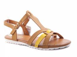 Новые летние босоножки сандалии женские коричневые 37-40р.