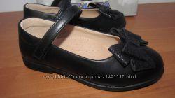 Новые туфли туфельки черевички девочке натуральная кожа эко-кожа 25-29р.
