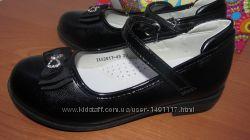 B&G подкладка натур. кожа туфли в школу для девочки 28-33р. 18-20, 5см