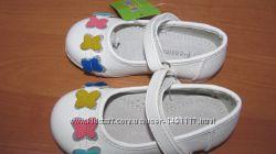 туфли туфельки белые на утренник праздник девочке 21-23р. 13-14, 5см