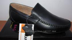 Новые с натуральной кожи школьные туфли мокасины для мальчика Kangfu 31-35р