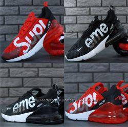 5b766a65 Мужские кроссовки Nike Air Max 270 SUPREME RedBlackWhite, 1360 грн ...