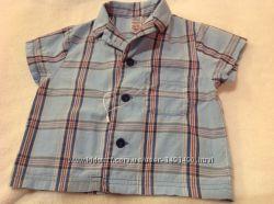 Рубашка на мальчика 9-12 месяцев