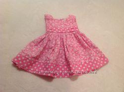 Платье на девочку 9 месяцев.