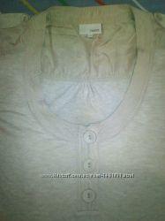 Трикотажная блузка батник 42-44-46